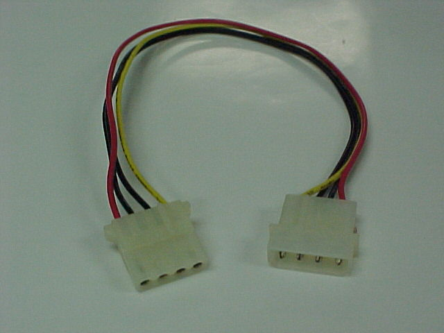 "Internal 12"" power extention cable"