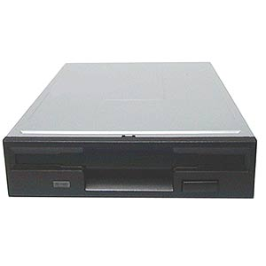 Generic Black 1.44MB Floppy Drive