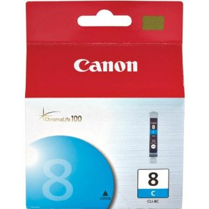 Canon Pixma 8 Cyan Ink