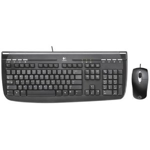 Logitech PS2 Keyboard/Mouse Brown Box
