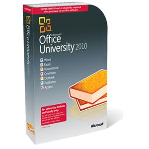 Academic Microsoft Office University 2010 Professional