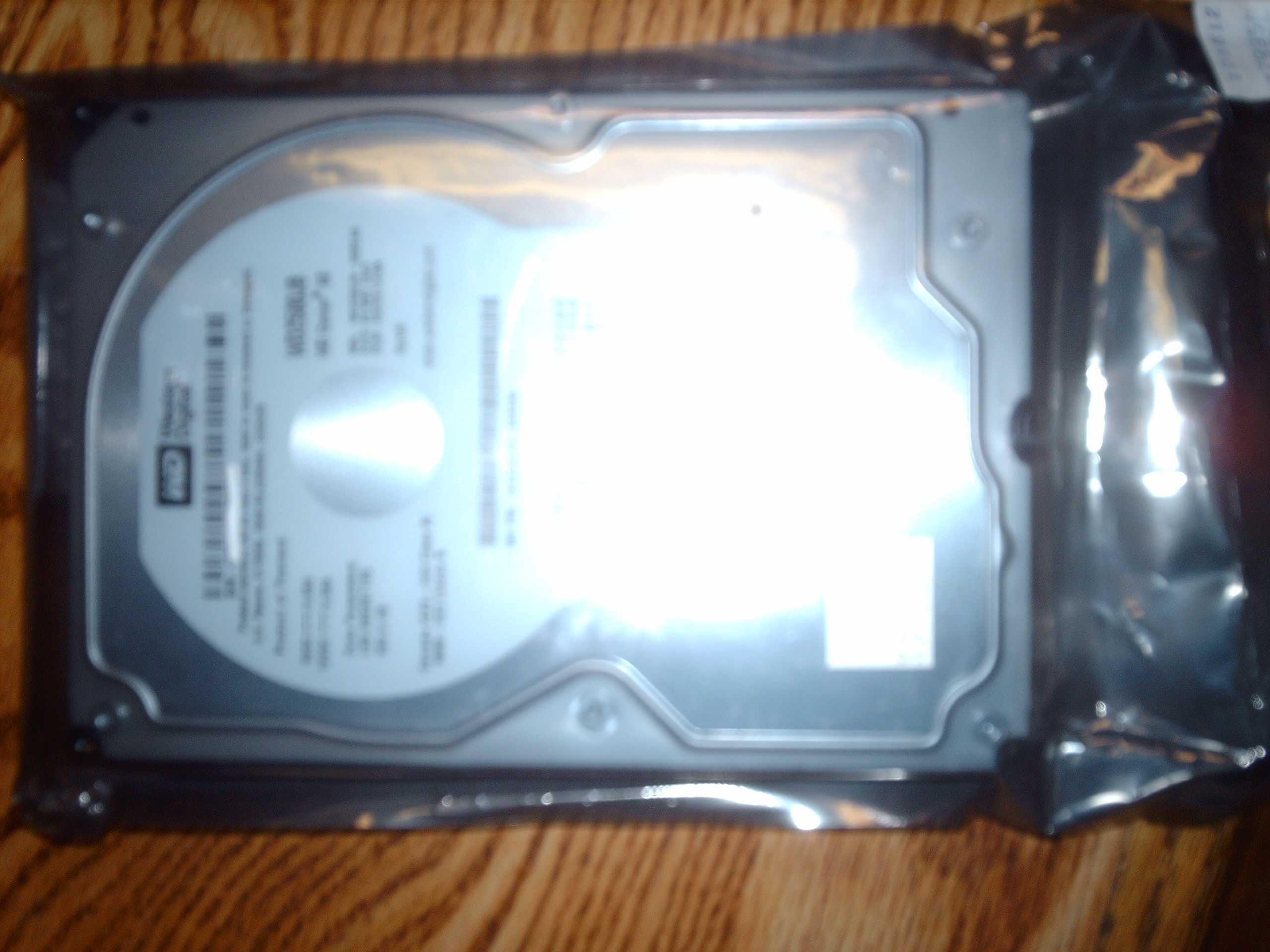 NEW Western Digital 250GB PATA Hard Drive, 7200 RPM