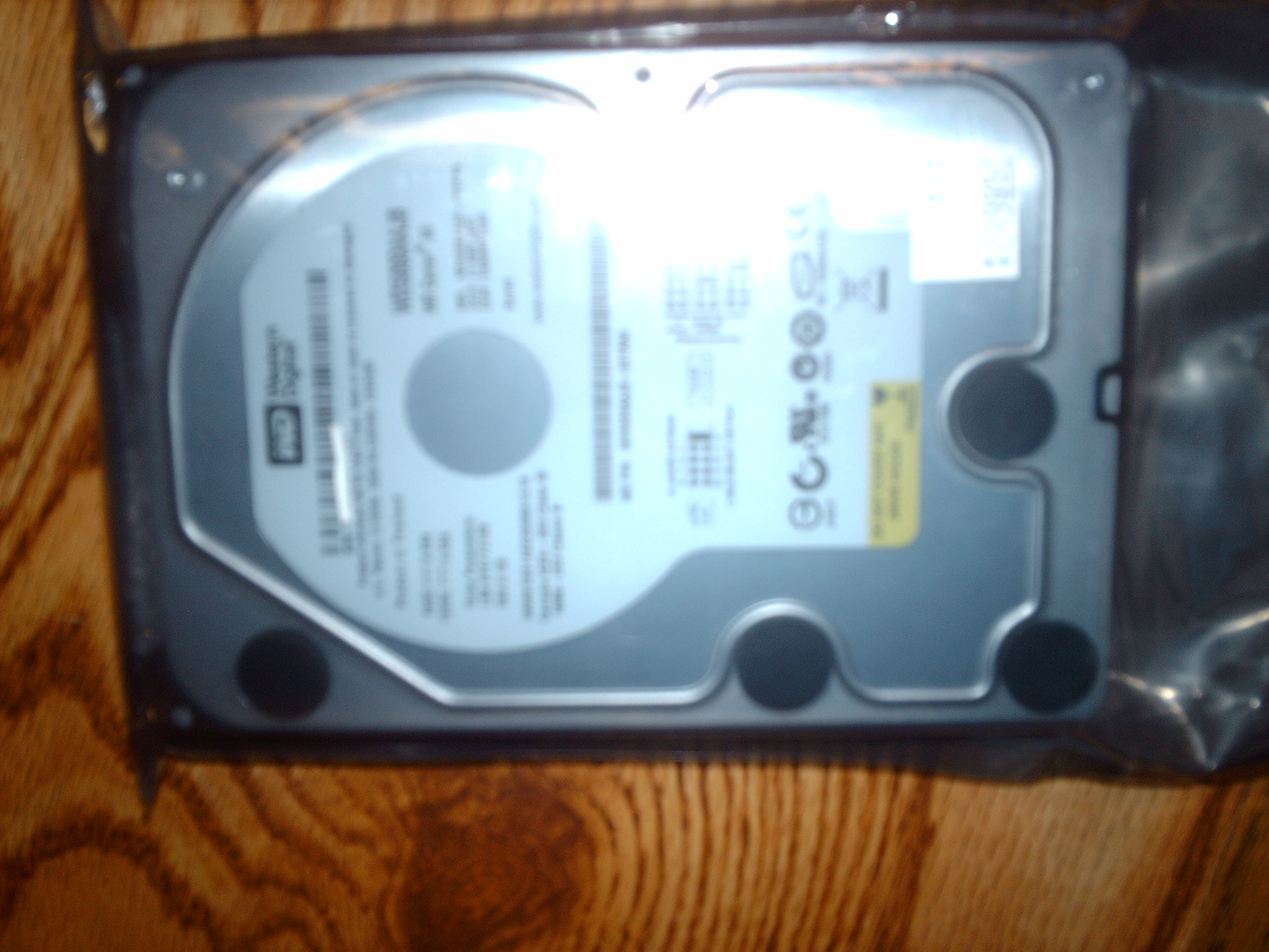 NEW Western Digital 500GB PATA Hard Drive, 7200 RPM